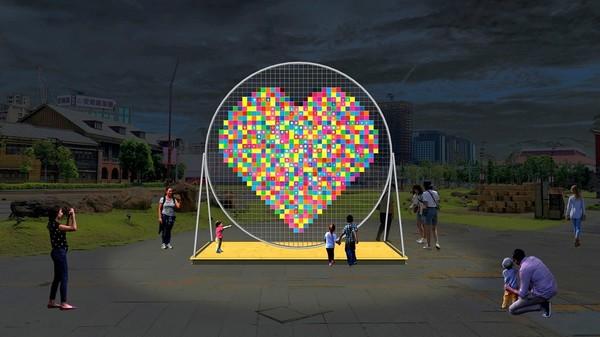 確定了!北市跨年7大區都有燈飾「漂浮草原、巨型愛心」搶先筆記 | ETt