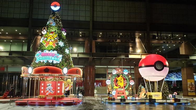 全台唯一「寶可夢耶誕樂園」!巨大皮卡丘戴帽子超Q 點燈更夢幻| ETtoday旅遊雲| ETtoday新聞雲