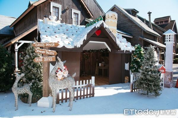 打造白色童話耶誕村!六福村11/28開始飄雪 還有耶誕大遊行
