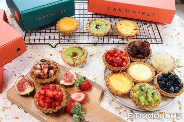 東區最美型水果塔!米其林星廚開酥塔專賣店 塔皮製作就要花4天 | ETt