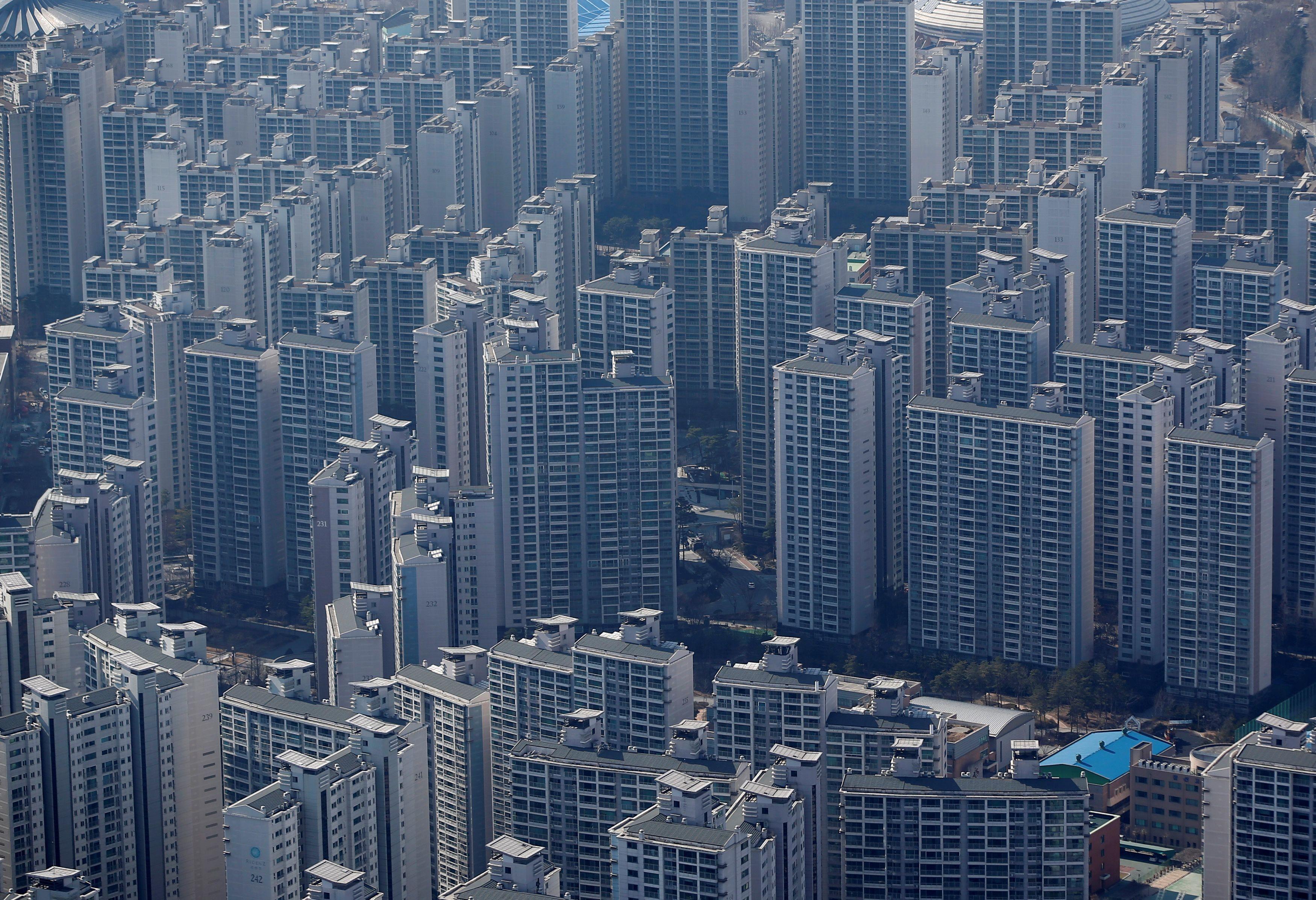 ▲▼南韓,南韓房地產,首爾,首爾公寓(圖/路透社)