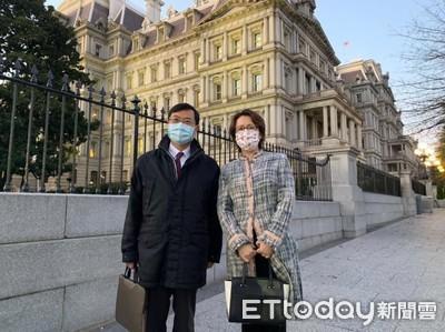 駐美大使蕭美琴防疫隔離中 經濟部「胡迪」次長返國檢測現況曝光