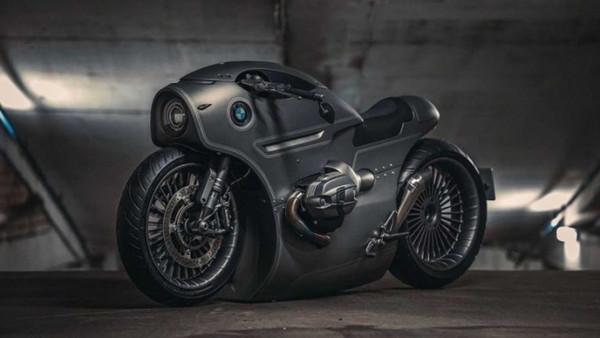 戰鬥民族爆改BMW重機「變身B52貼地轟炸機」!車頭根本是太空梭