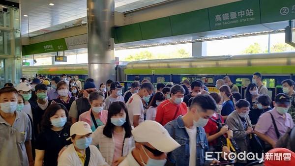 中捷綠線試營運首遇假日 單日總運量可望破9萬人次