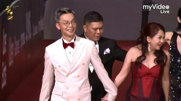 金馬獎/新加坡喜劇天王來了! 李國煌全身白西裝超有型