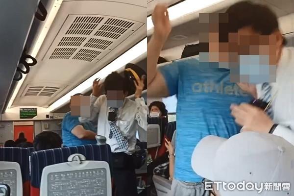 快訊/台鐵普悠瑪爆攻擊事件!男乘客拒補票 失控狂巴列車長頭