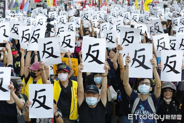 藍白動員反萊豬遊行 總統府:盼在野黨在立院理性溝通