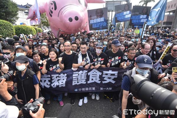國民黨成功號召萬人「反萊豬遊行」 民進黨籲:停止政治操作