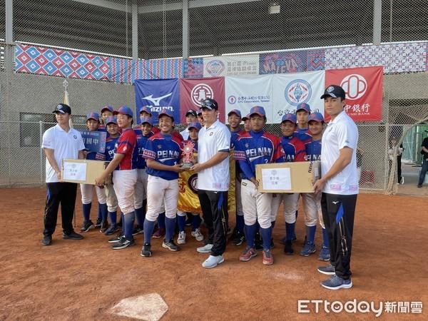 關懷盃/卑南國中2比1險勝奪冠!U12國手李政綸打擊王