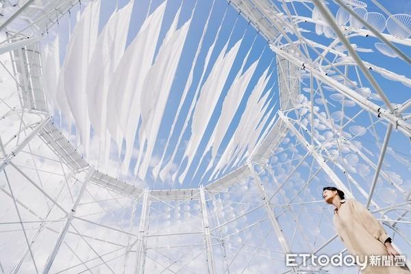 宜蘭壯圍地景藝術節登場!11件作品曝光 純白城堡、竹編浪花很好拍 | E