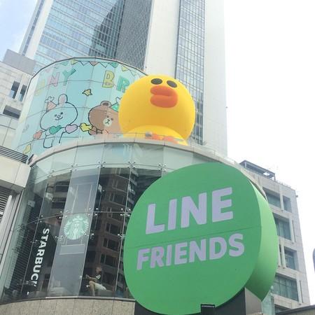 5公尺熊大、兔兔搬進信義區!「Line樂園免費玩」還有超大扭蛋機