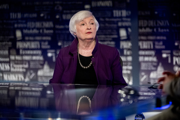 美國史上首位女性財長! 美媒:拜登將提名前聯準會主席葉倫