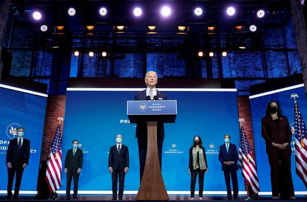 拜登國安團隊一字排開! 誓言揚棄川普「單邊主義」:美國回來了