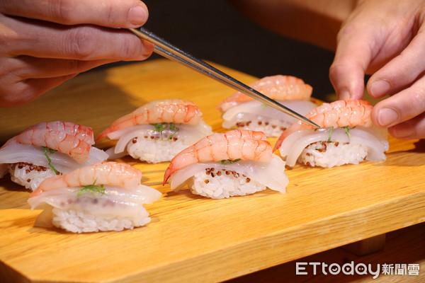 15道壽司日料1200元 小資族的板前無菜單日料「米匠」插旗大直