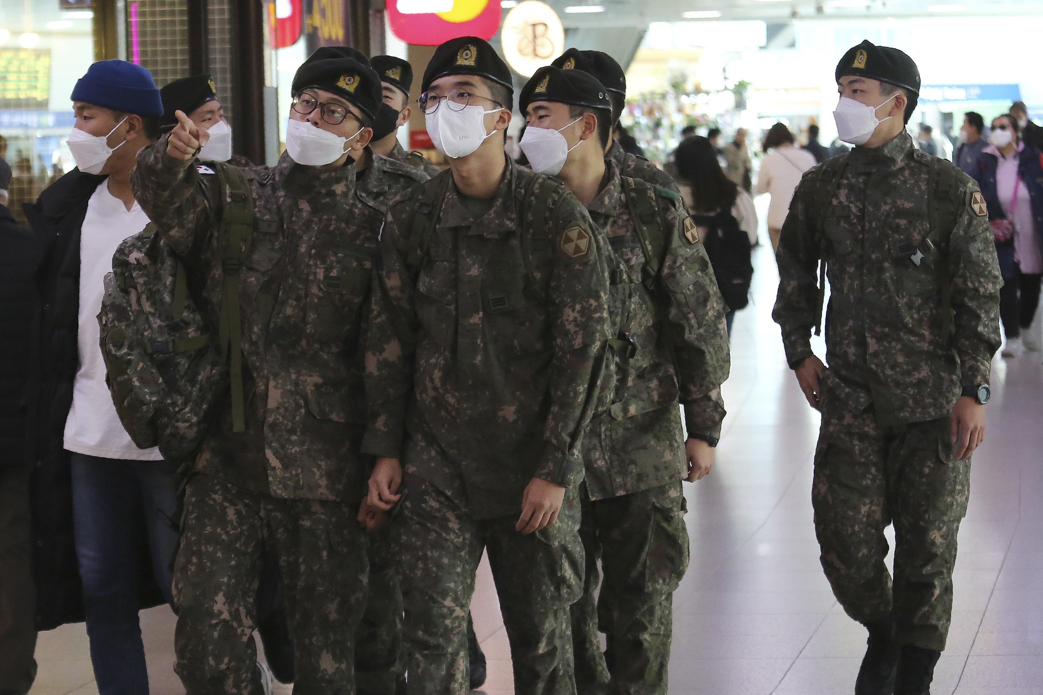 ▲▼南韓京畿道漣川郡陸軍部隊出現最大規模群聚感染。(示意圖/達志影像/美聯社)