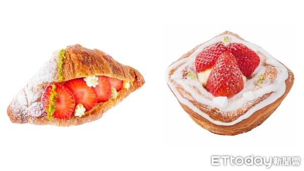 開吃!八月堂「草莓季」回來了 草莓檸檬千層派、草莓卡士達通通有 | ET