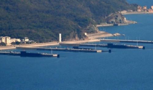 中共,美中台,核動力潛艦,軍事,戰略嚇阻,西南海域,南海,海南島