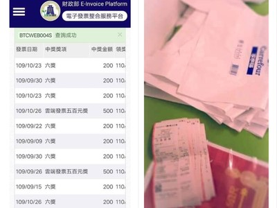 買4600個購物袋洗發票中獎機率! 財政部回應了