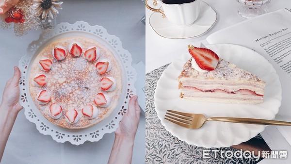 冬天就等這塊!時飴超夯「草莓千層」重磅回歸 內餡還夾了草莓果肉 | ET