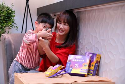 美女主播蕭彤雯分享「3C教養術」!陪孩子面對沉迷問題 隨身帶「葉黃素凍」保養