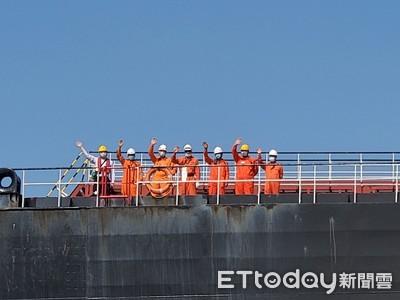 中油非洲第一船95萬桶原油回台灣了!樹立海外探勘新里程碑