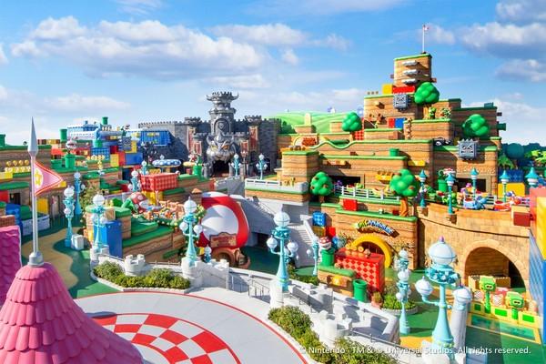 日本環球「超級任天堂世界」明年2/4開 有瑪利歐賽車、入園方式公開