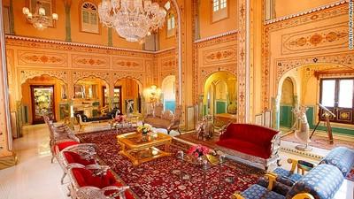 土豪限定!10間極盡奢華的飯店套房