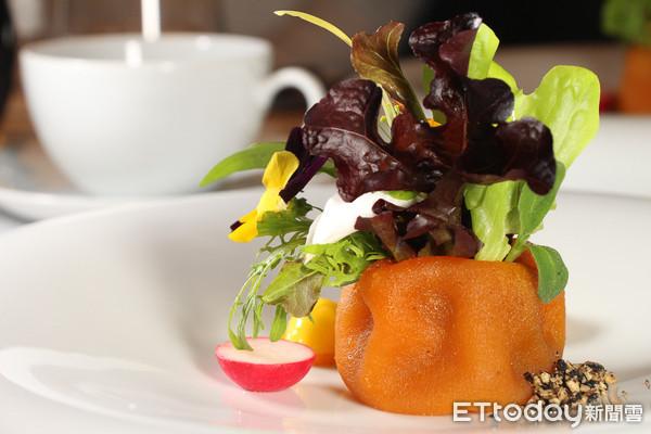 配角變主角!50種在地花果蔬菜入菜  鹽之華推出法式蔬食套餐 | ETt
