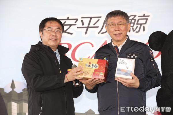 參選台南市長 黃偉哲:2015與柯文哲見面後決定的   ETtoday政
