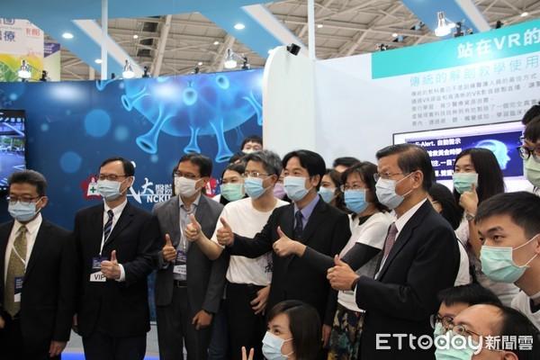 2020台灣醫療科技展吸睛 成大研發新式霧化吸入治療面罩降低疫情風險 |
