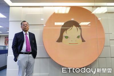 大老闆收藏曝光!黃崇仁辦公室像藝廊 年捐5000萬支持藝術創作者