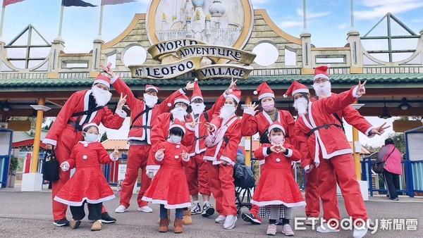 變裝耶誕老人門票只要199元 六福村再新增5公尺胡桃鉗扭蛋機