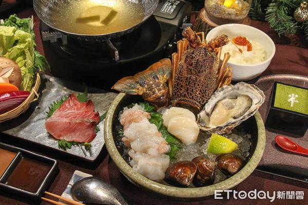 生食或燙熟都可以!日本橋海鮮丼冬令火鍋套餐有雙重吃法 | ETtoday
