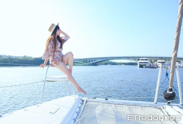 台南海上新玩法!平價就能搭遊艇出海 看漁光島夕陽、玩SUP | ETto
