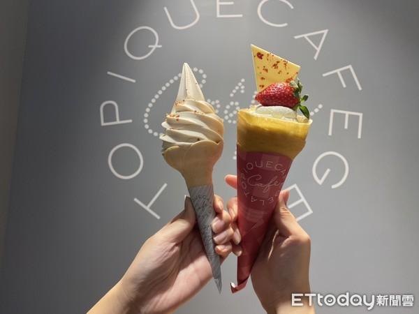 冰控開吃!「蜷尾家 X pique café」花生牛奶霜淇淋開賣 只到1