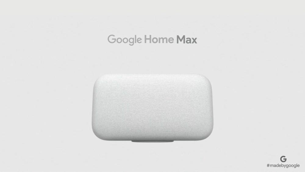 ▲▼Google Home Max。(圖/取自Google Store官網)