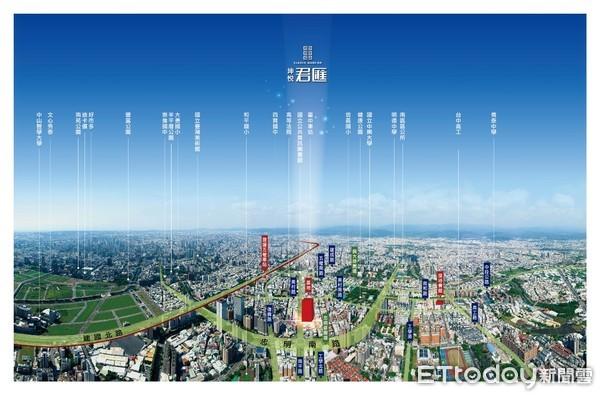▲▼台中南區坤悅君匯推出1周即熱賣3成。(圖/業者提供)