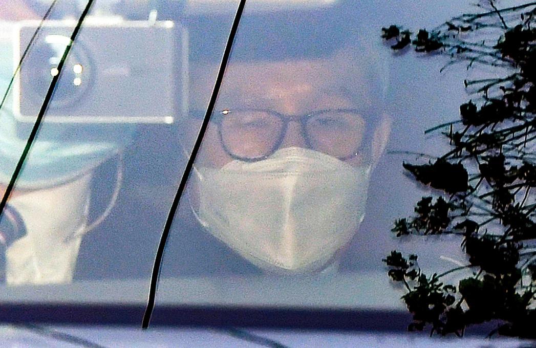 ▲▼南韓前總統李明博進入首爾東部看守所服刑,篩檢結果呈陰性。(圖/達志影像)