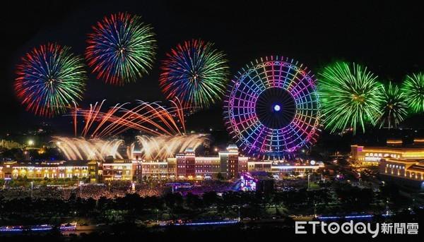 麗寶樂園跨年6000發煙火搶先看 晚會再送獨家限量口罩 | ETtoda