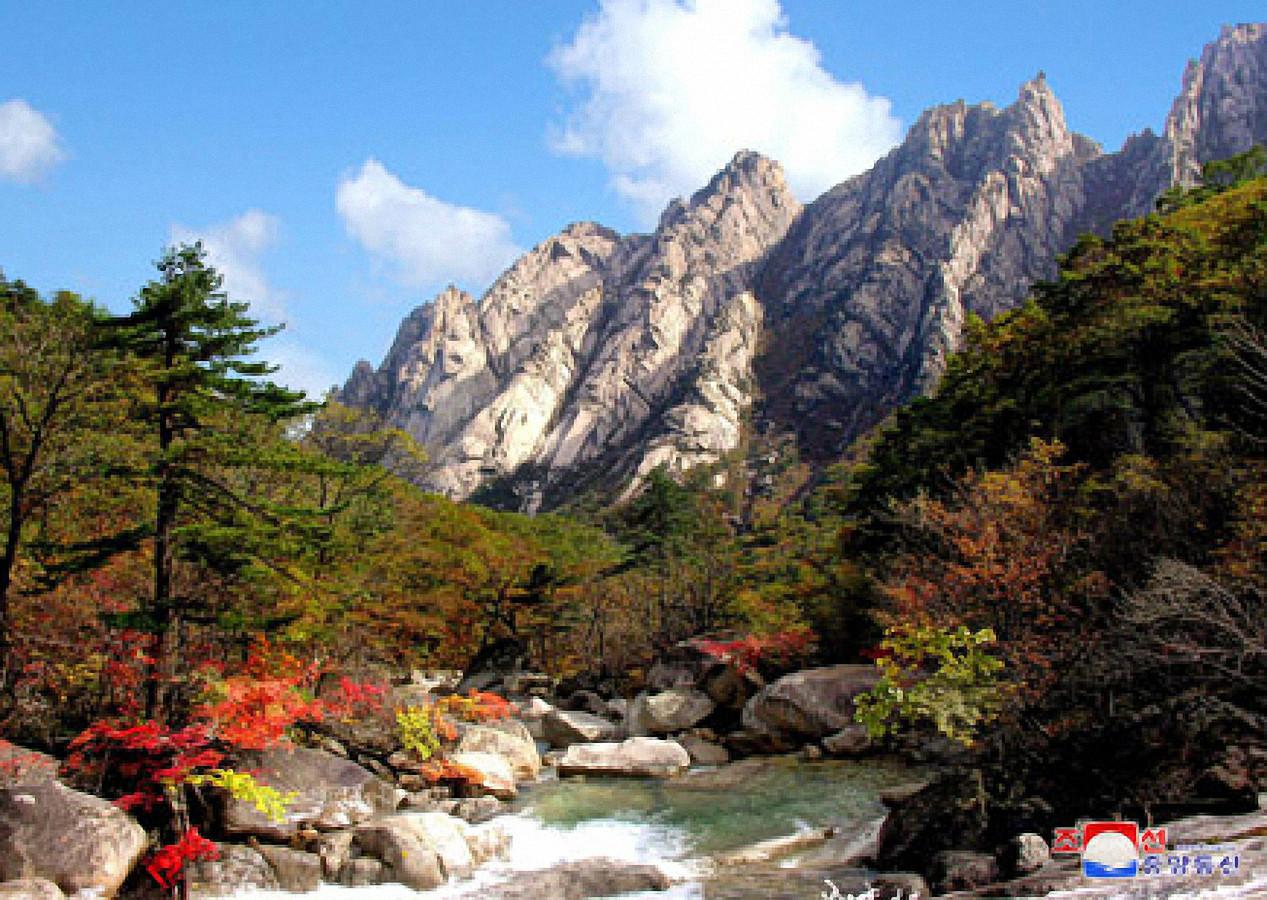 ▲▼即便面臨全球新冠疫情,北韓當局仍設法開發金剛山觀光資源。(圖/達志影像)