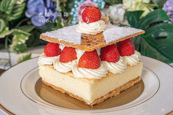 草莓控別錯過!高雄法國藍帶烘焙坊 酥脆香甜千層酥沒預訂吃不到 | ETt