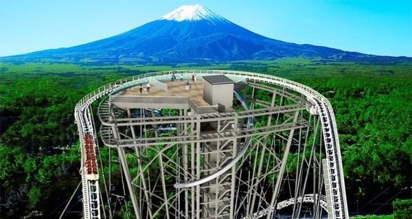 日本「離天國最近」雲霄飛車建富士山觀景台 全新溜滑梯從18樓滑落 | E
