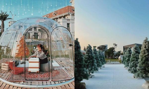 星空泡泡屋美翻!冬季漫遊夢幻嘉年華25日登場 森林雪景步道秒飛童話世界