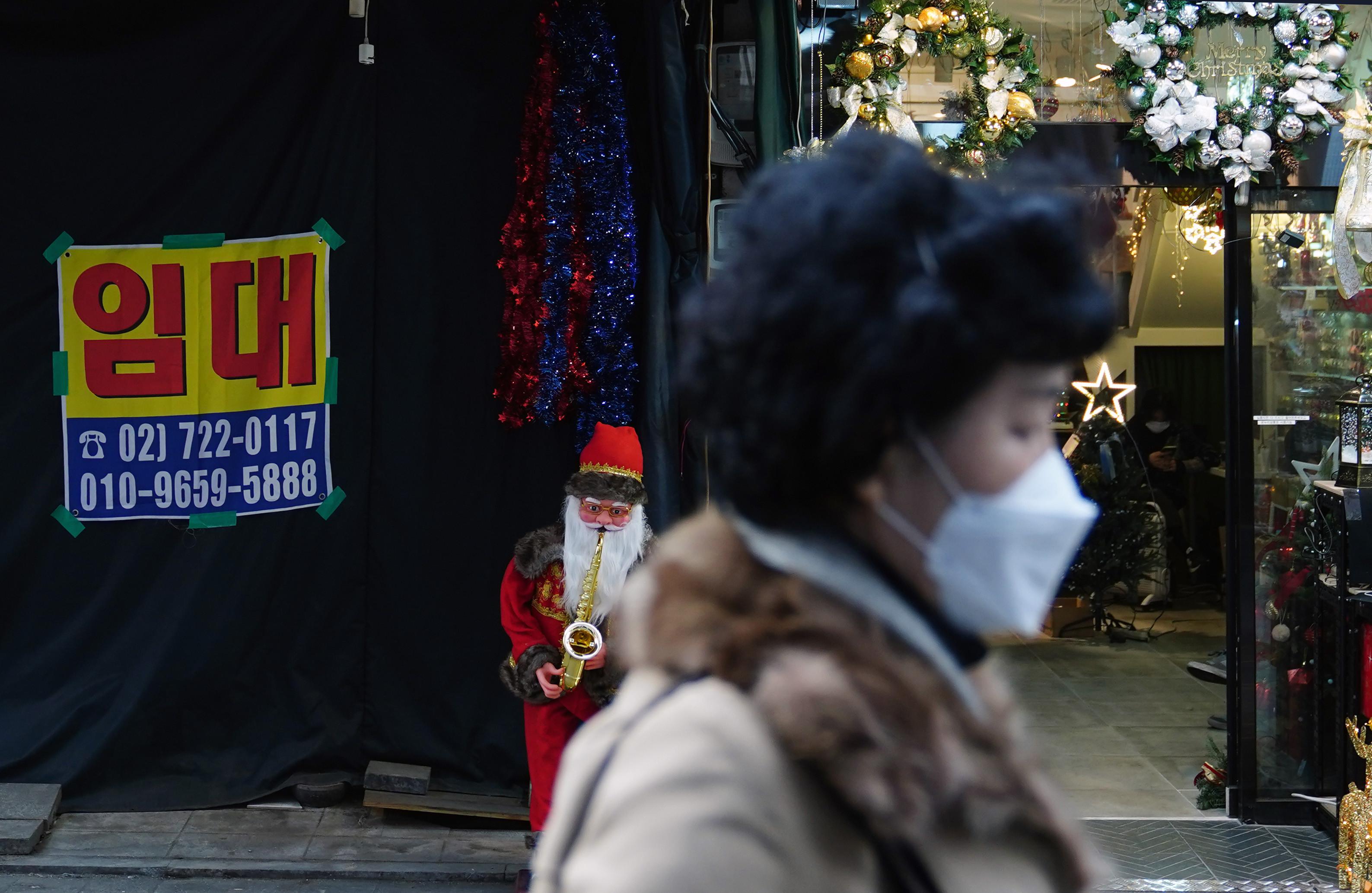 ▲▼南韓新冠疫情肆虐,許多店面撐不下去待租(圖/達志影像)