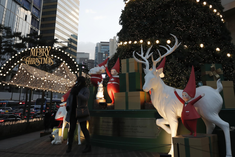 ▲▼南韓國內耶誕連假新增確診者卻創新高,佳節慘澹。(圖/達志影像)
