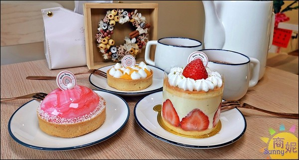 吃得到整顆草莓!台中高CP值手作甜點 百元就能品嚐法國國寶茶