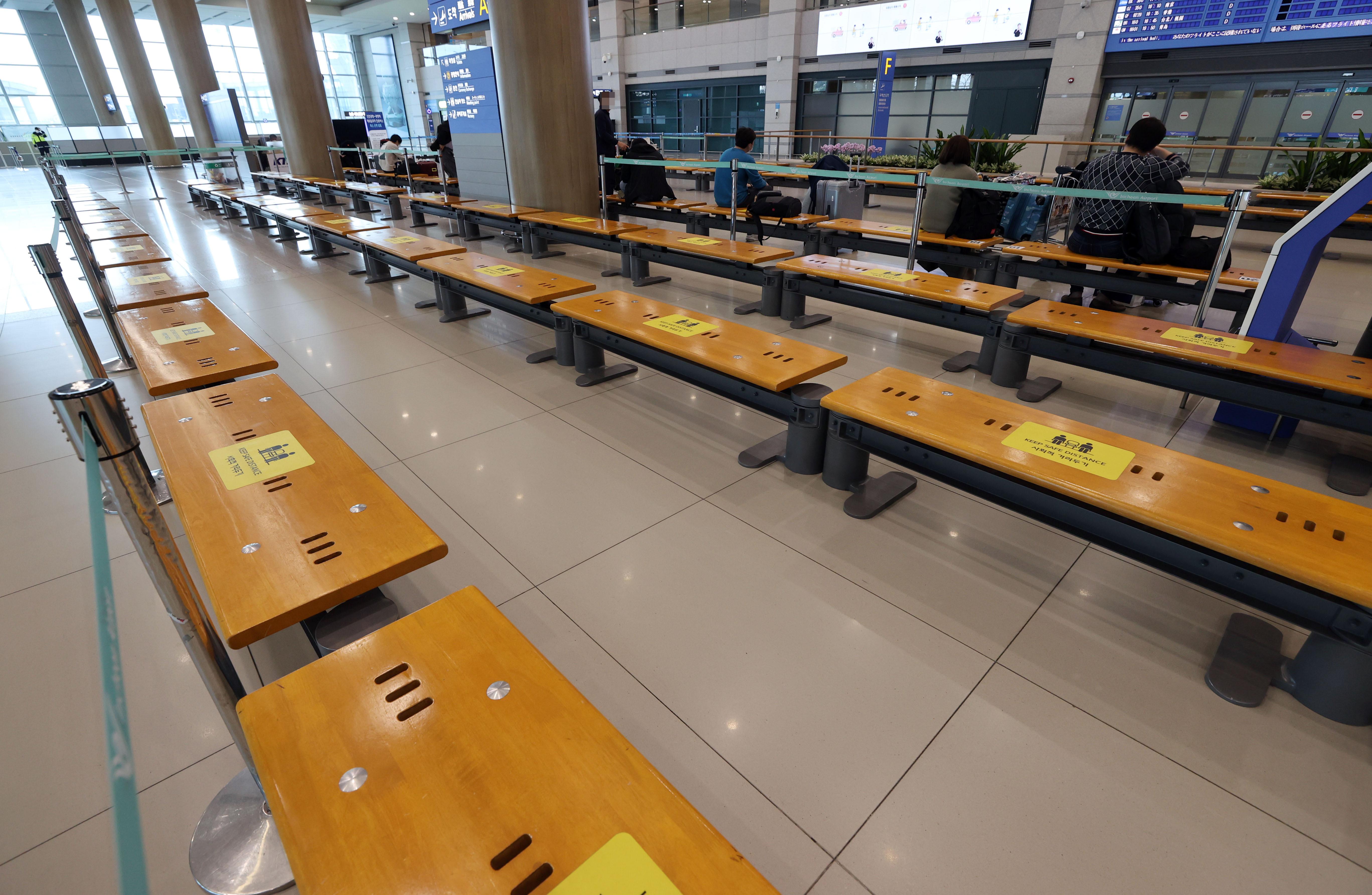 ▲▼南韓已於23日起禁止英國航班入境,圖為仁川國際機場。(圖/達志影像)