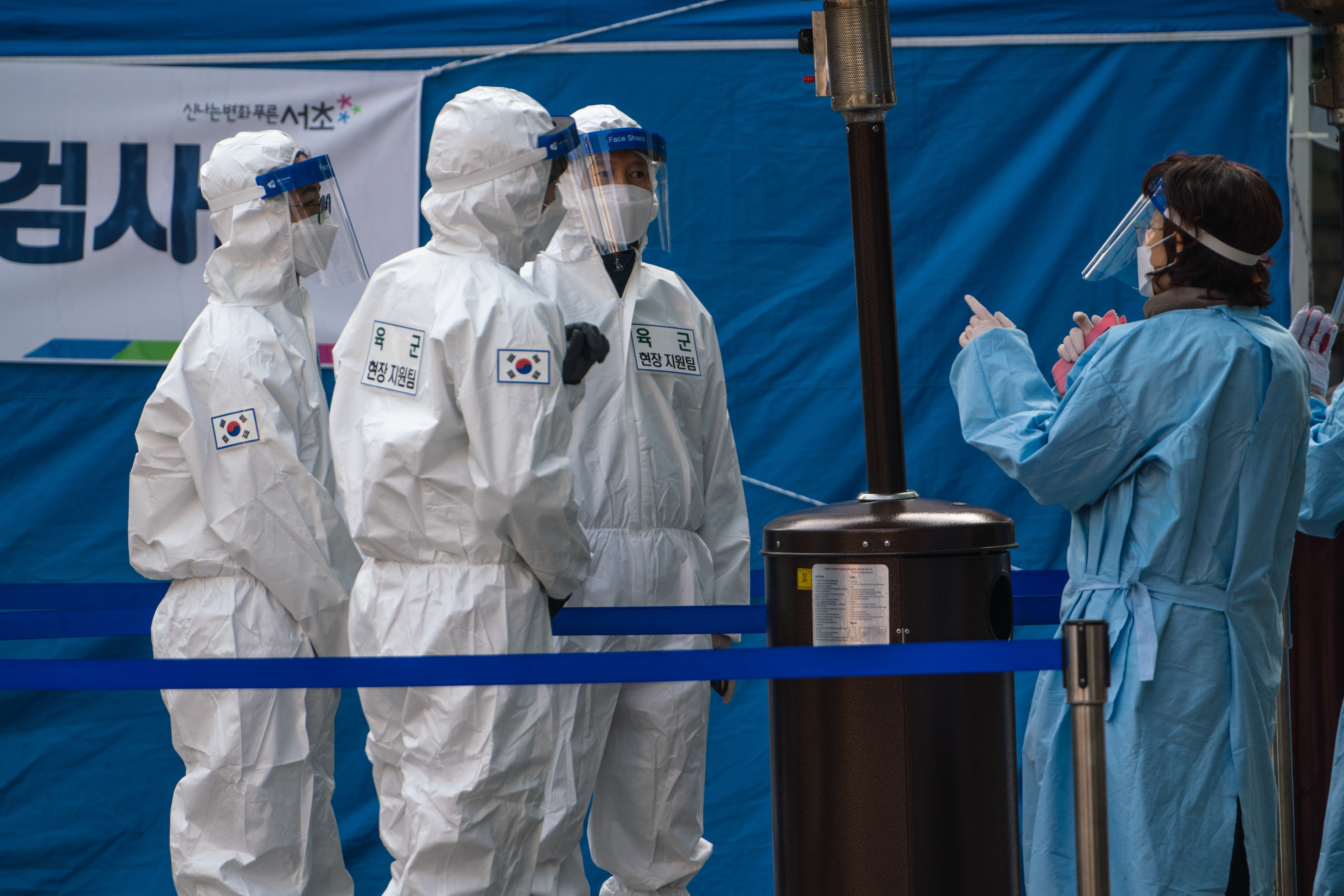 ▲▼南韓境內篩出英國變種新冠病毒。(圖/達志影像)