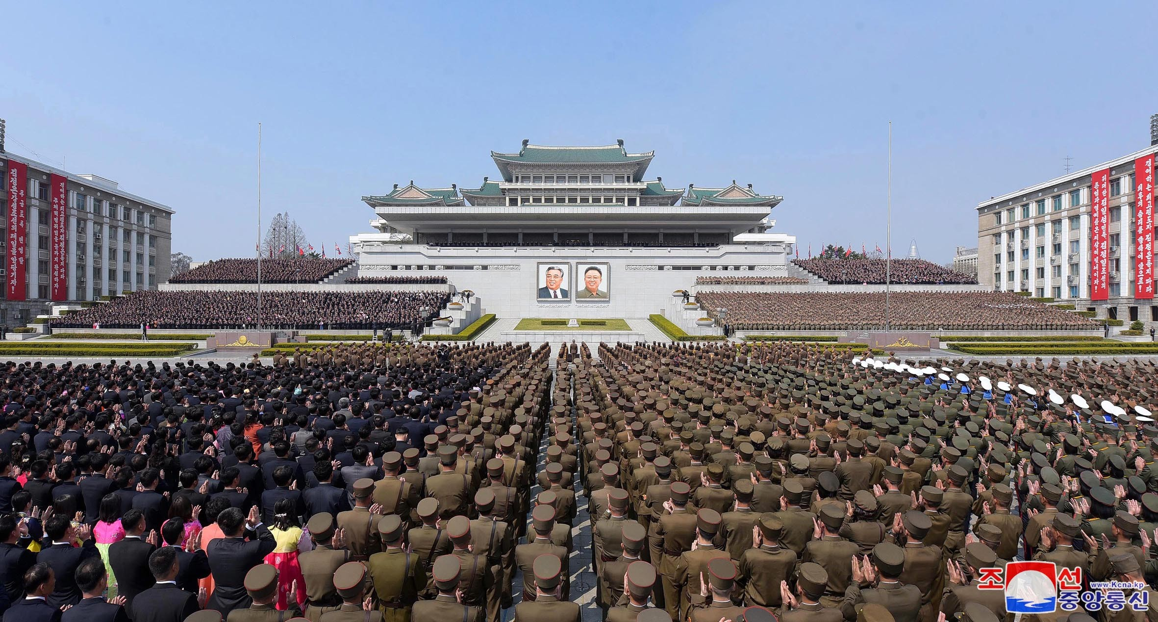 ▲▼北韓平壤金日成廣場。(圖/達志影像)