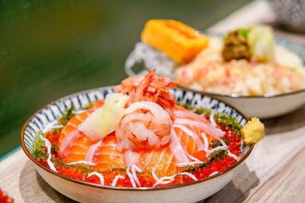 銷魂鮭魚卵+生魚片鋪滿碗!台北文青風日料 還有超萌手毬壽司   ETto